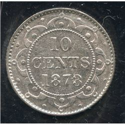 1873 Newfoundland Ten Cents