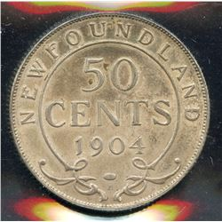 1904H Newfoundland Fifty Cents