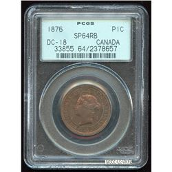 1876 One Cent Specimen