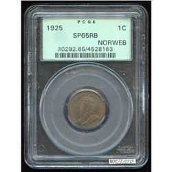 1925 One Cent Specimen