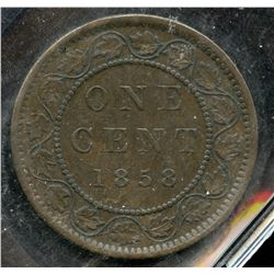 1858 One Cent