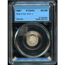 1897 Five Cents