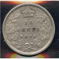 1871H Ten Cents