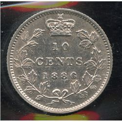 1886 Ten Cents