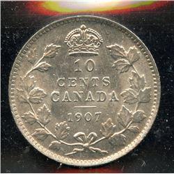 1907 Ten Cents