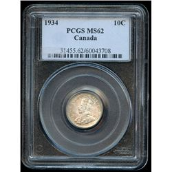 1934 Ten Cents
