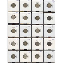 Ten Cents - Lot of 60