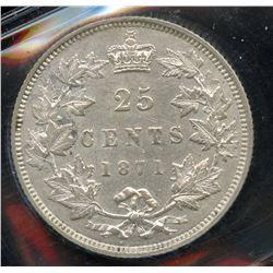 1871 Twenty Five Cents