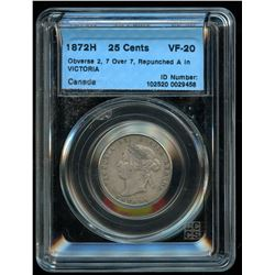 1872 Twenty-Five Cents