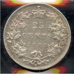 1882H Twenty Five Cents