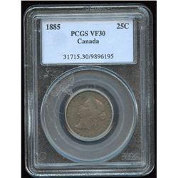 1885 Twenty-Five Cents