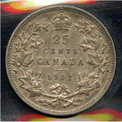 1902 Twenty Five Cents