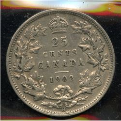 1902H Twenty Five Cents
