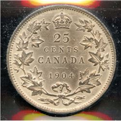 1904 Twenty Five Cents