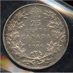 1906 Twenty Five Cents