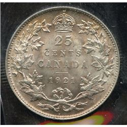 1921 Twenty Five Cents