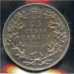 1931 Twenty Five Cents
