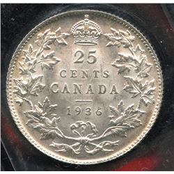 1936 Twenty Five Cents