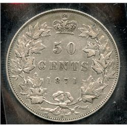 1871H Fifty Cents