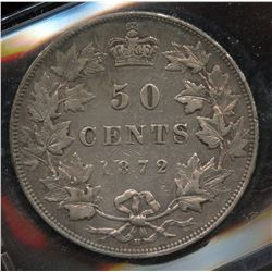 1872H Fifty Cents