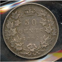 1892 Fifty Cents