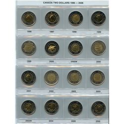 Canadian Dollar & Toonie Collections