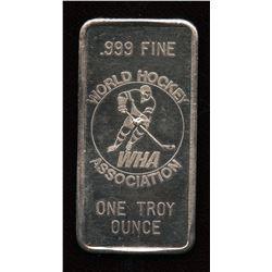 WHA Great Lakes Mint 1 Oz Fine Silver Bar – Minnesota Fighting Saints