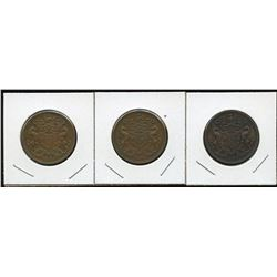 Lot of Four Rutherford Tokens.