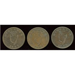 Lot of Three Wellington, Tokens Breton 976.
