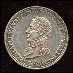 Wellington Token, Breton 987 in Silver.