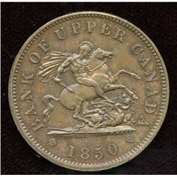 Br 719, CH-PC-6A1, 1850 One Penny.