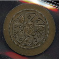 Br 572. Playing Card Token.