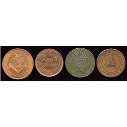 Nova Scotia Masonic Pennies