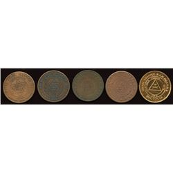 Nova Scotia Masonic Pennies