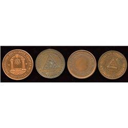 New Brunswick Masonic Pennies