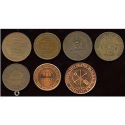 Miscellaneous Masonic Pennies