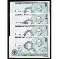Bank of England - Experimental Test Die Banknote