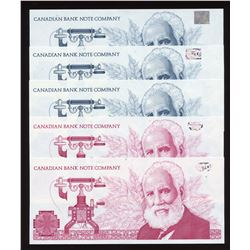 Canadian Bank Note Company Samples