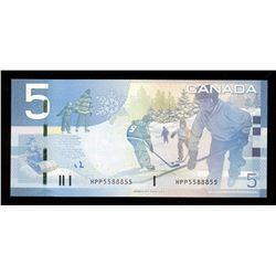 Bank of Canada $5, 2006 - 2 Digit Radar