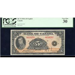 Bank of Canada $5,1935