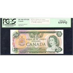 Bank of Canada $20, 1979 (Steel)