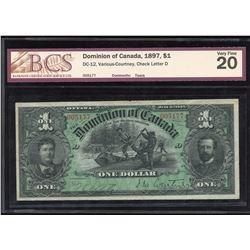 Dominion of Canada $1, 1897
