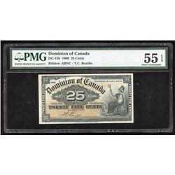 1900 Dominion of Canada 25 Cents
