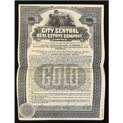 City Central Real Estate Co. Ltd. $100, 1910