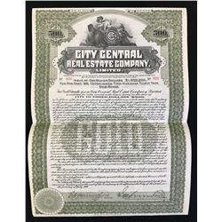 City Central Real Estate Co. Ltd. $500, 1910