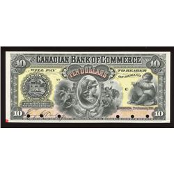 Canadian Bank of Commerce $10, 1888