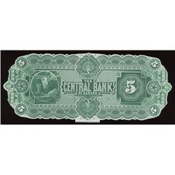 Central Bank of Canada $10, 1884