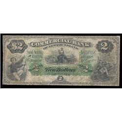 Commercial Bank of Newfoundland $2, 1888