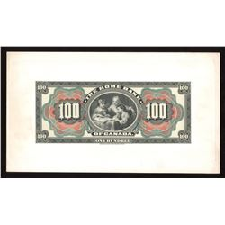 Home Bank of Canada $100, 1904