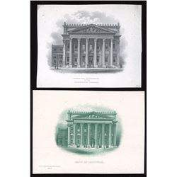 Bank of Montreal - Lot of 2 Vignettes